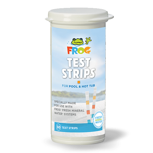 FROG Test Strips for Spas & Pools - 01-14-3318 - All Testing by Type and Analyte