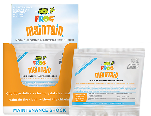 FROG Maintain™ - Non-Chlorine Maintenance Shock, 01-14-6012 - Frog Systems